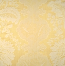 SCALAMANDRE KILFANE SILK DAMASK FABRIC LEMON