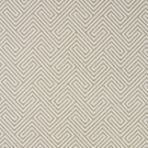 SCALAMANDRE LABYRINTH WEAVE GEOMETRIC JACQUARD FABRIC SAND