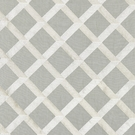 SCALAMANDRE  LATTICE EMBROIDERY FABRIC ZINC
