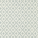 SCALAMANDRE MALAY IKAT WEAVE JACQUARD FABRIC AQUAMARINE