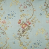 SCALAMANDRE MEISSEN SILK LAMPAS FABRIC COLONY COLLECTION ANIS