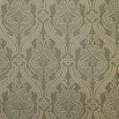 SCALAMANDRE NAMTU DAMASK FABRIC FRENCH BLUE & TAN