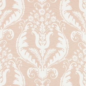 SCALAMANDRE PRIMAVERA PRINT FABRIC BLUSH