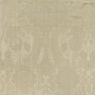 SCALAMANDRE PUGIN FABRIC IVORY ON LINEN STRIE