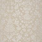 SCALAMANDRE SHALIMAR EMBROIDERED FABRIC SAND