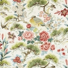 SCALAMANDRE SHENYANG LINEN PRINT FABRIC BLOOM