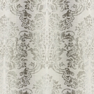 SCALAMANDRE SORRENTO LINEN DAMASK FABRIC ZINC