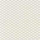 SCALAMANDRE TRISTAN WEAVE JACQUARD FABRIC WHITE SAND