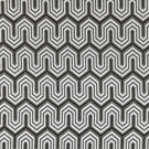 SCALAMANDRE UNDULATION JACQUARD FABRIC GRAPHITE