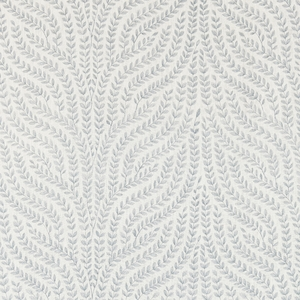 SCALAMANDRE WILLOW VINE EMBROIDERY FABRIC AQUAMARINE