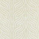 SCALAMANDRE WILLOW VINE EMBROIDERY FABRIC CELERY