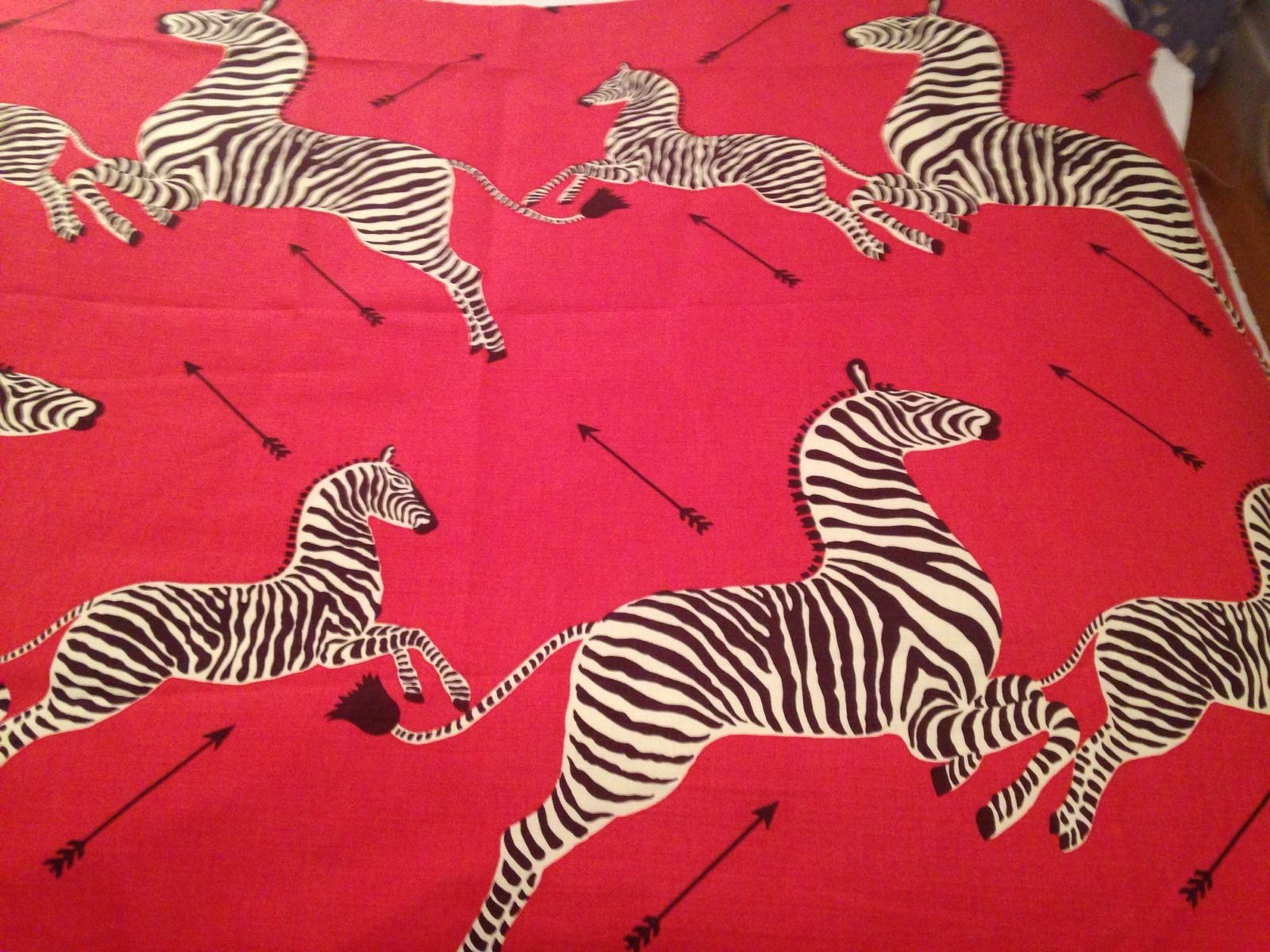 scalamandre zebras masai red