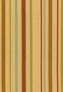SCHUMACHER ALESSANDRA SILK STRIPE FABRIC GOLD