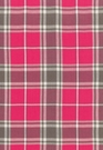SCHUMACHER ALEXANDER TARTAN WOOL PLAID FABRIC FUCHSIA