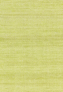 SCHUMACHER ALHAMBRA WEAVE SILK FABRIC LIME/IVORY