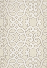 SCHUMACHER AMBOISE LINEN EMBROIDEREY FABRIC OYSTER