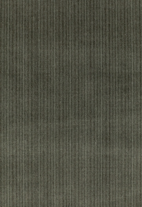 SCHUMACHER ANTIQUE STRIE VELVET FABRIC SMOKE