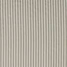 SCHUMACHER ANTIQUE TICKING STRIPE FABRIC LINEN