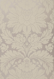 SCHUMACHER ANVERS DAMASK FABRIC NICKEL