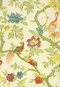 SCHUMACHER ARBRE CHINOIS FABRIC MEADOW