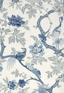 SCHUMACHER ARBRE CHINOIS FABRIC PORCELAIN