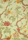 SCHUMACHER ARBRE CHINOIS FABRIC SAGE