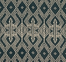 SCHUMACHER ASAKA IKAT ETHNIC CHIC FABRIC CHARCOAL