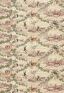 SCHUMACHER  FOX HUNT ASTON MANOR PRINT FABRIC DOCUMENT