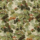 SCHUMACHER AUTUMN LEAVES LINEN FABRIC  DOCUMENT