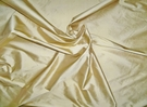 SCHUMACHER BELLINI SILK DUPIONI FABRIC FORSYTHIA (YELLOW GOLD)