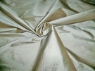 SCHUMACHER BELLINI SILK DUPIONI FABRIC SEAGLASS