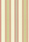 SCHUMACHER BIELLA SILK STRIPE FABRIC BERRY