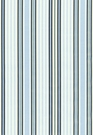 SCHUMACHER BIELLA SILK STRIPE FABRIC DELFT