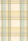 SCHUMACHER BIRMINGHAM SILK PLAID FABRIC WHEAT
