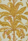 SCHUMACHER BLAIR HOUSE PALM II TROPICAL FABRIC SEA BREEZE