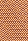 SCHUMACHER BOHEMIAN RHAPSODY COTTON FABRIC CINNABAR