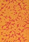 SCHUMACHER BORA BORA  INDOOR OUTDOOR FABRIC MANGO