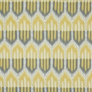 SCHUMACHER BUKHARA IKAT FABRIC SMOKE