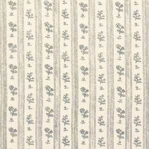 SCHUMACHER CABANON STRIPE FABRIC GRIS