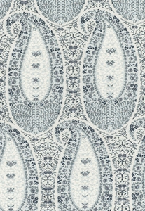 SCHUMACHER CACHEMIRE FIORENTINO COTTON FABRIC DELFT