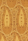 SCHUMACHER CACHEMIRE FIORENTINO COTTON FABRIC SPICE