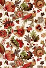SCHUMACHER CAMBOURNE FABRIC CORAL