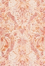 SCHUMACHER CAP FERRAT LINEN FABRIC SUNSET