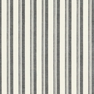 SCHUMACHER CAPRI STRIPES FABRIC BLACK WHITE