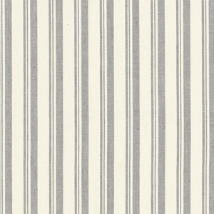 SCHUMACHER CAPRI STRIPES FABRIC GREIGE WHITE