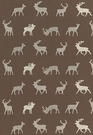 SCHUMACHER CARIBOU EMBROIDERY FABRIC JAVA