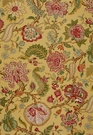 SCHUMACHER CHALFONT LINEN FABRIC SUNFLOWER