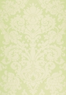 SCHUMACHER CHATEAU SILK DAMASK FABRIC CITRON