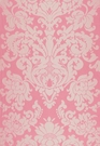 SCHUMACHER CHATEAU SILK DAMASK FABRIC SPRINGTIME