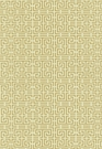 SCHUMACHER CHINOIS FRET FABRIC CAMEL/CREAM